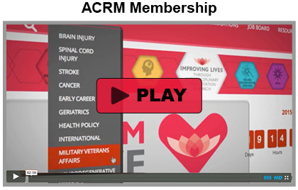CLICK to View ACRM Membership Video