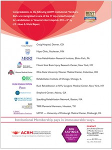 image: ACRM Institutional Membership Flyer