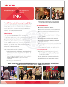 CLICK to View International Networking Group Brochure