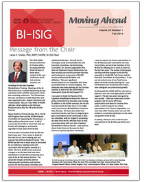 BI-ISIG Moving Ahead Cover