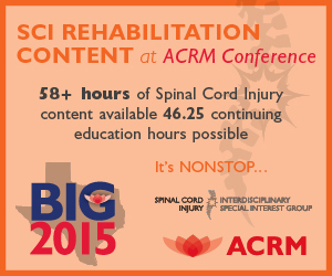 58+ Hours of SCI Content Available at the ACRM Annual Conference