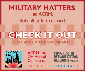 Click to View the NONSTOP Content for Military/VA coming to the ACRM Annual Conference
