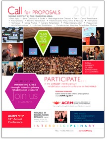 ACRM 2016 Annual Conference Call for Proposals