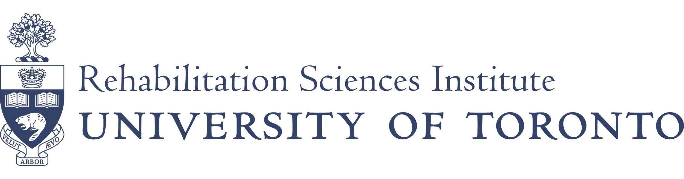 Rehabilitation Sciences Institute University of Toronto