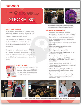 Stroke ISIG Brochure