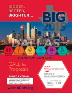 CLICK to VIEW ACRM 2015 Conference Brochure