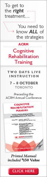 image: Cognitive Rehabilitation Training - Learn More & Register Now