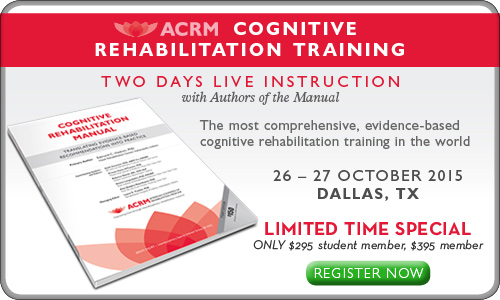 Cognitive Rehabilitation Training / Dallas