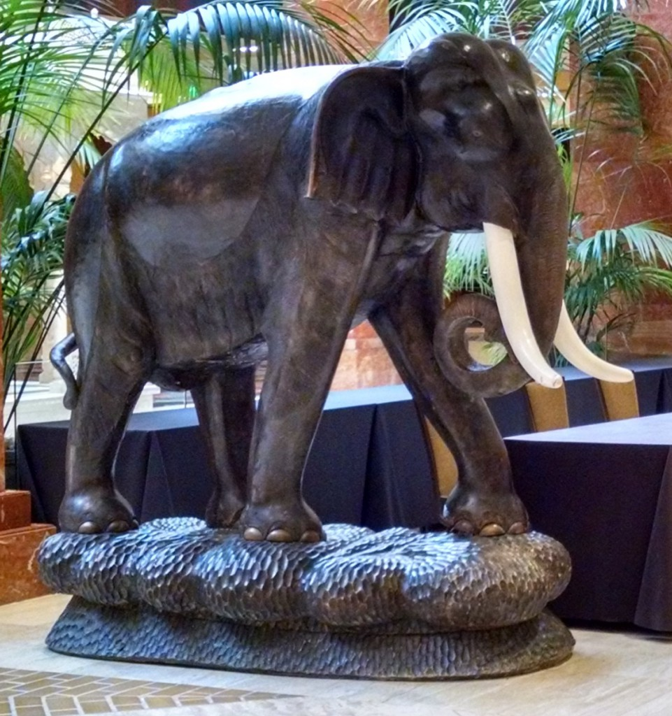 Lifesize Elephant Sculpture