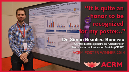 Simon Beaulieu-Bonneau, 2014 Poster Award Winner