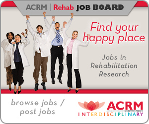 ACRM Rehab Job Board