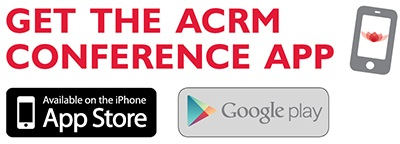 Get the ACRM Conference App