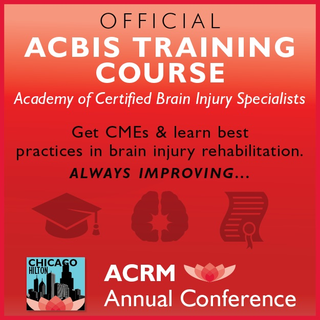Official ACBIS Certification Course coming to the ACRM Annual Conference