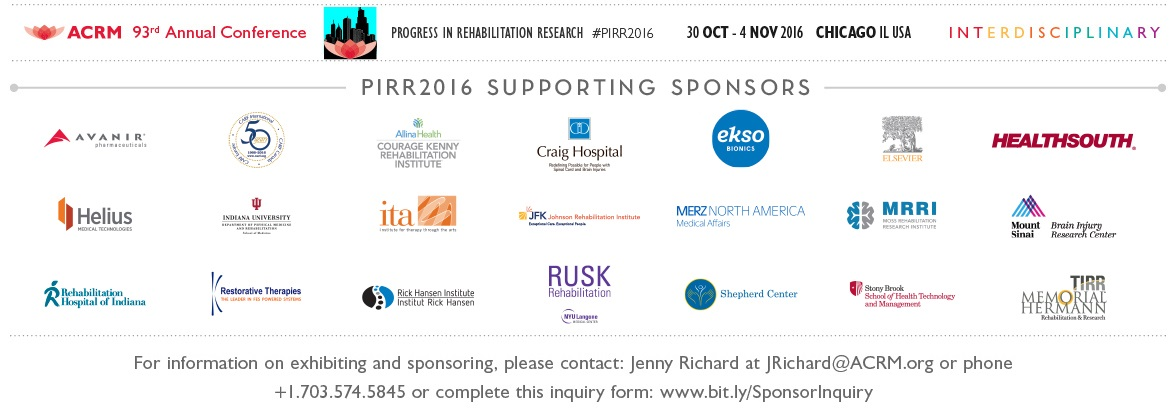 2016 ACRM Annual Conference Sponsors