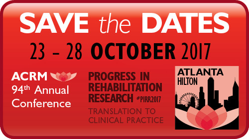 ACRM 94th Annual Conference Save the Dates