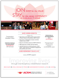Image: ACRM Member Value Flyer