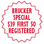 brucker special badge